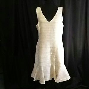 Banana Republic Winter White Dress NWT